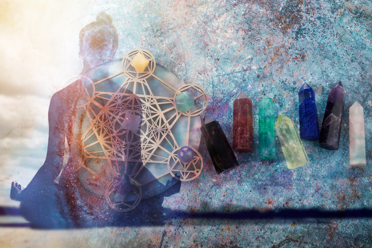 The Magic Behind Crystal Grids