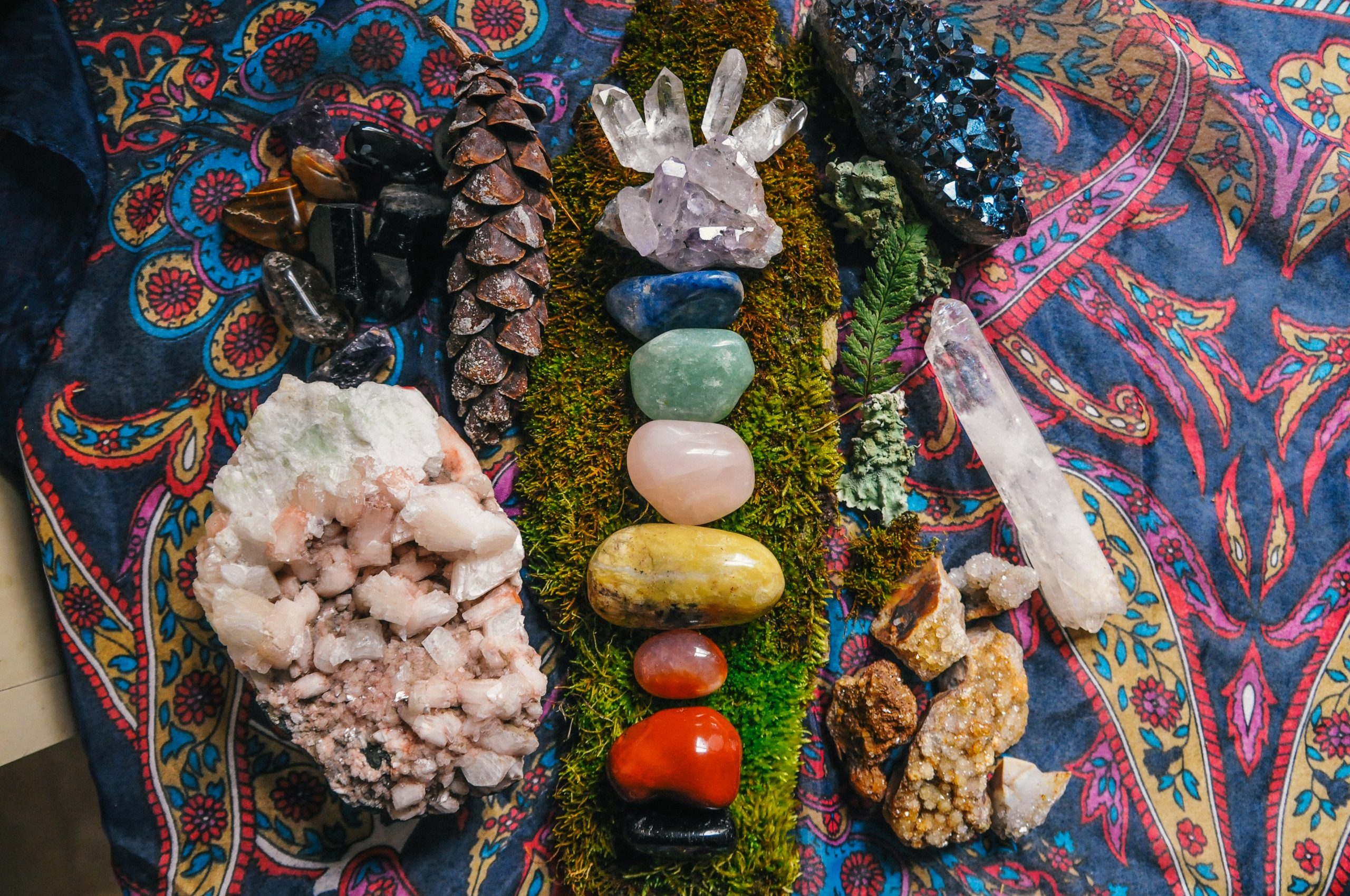 What are the Chakra Crystals?